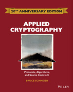 Cover of Applied Cryptography
