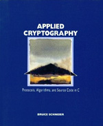 Cover of Applied Cryptography (1st Edition)