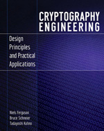 Cover of Cryptography Engineering