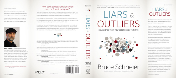 Liars and Outliers book jacket