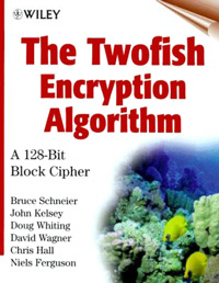 Cover of The Twofish Encryption Algorithm