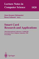 Cover of Smart Card Research and Applications